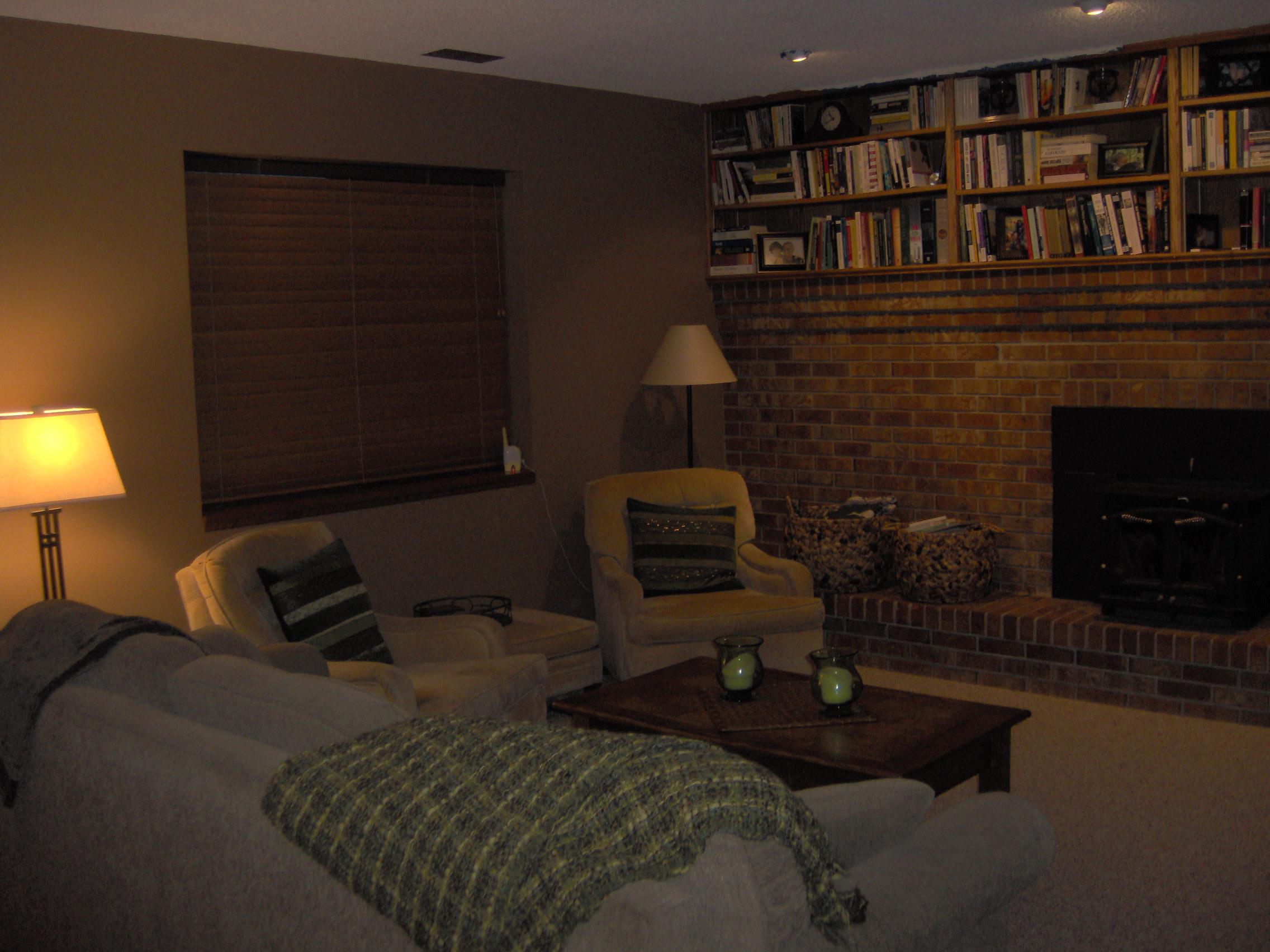 painted brick fireplace u2013 house over head