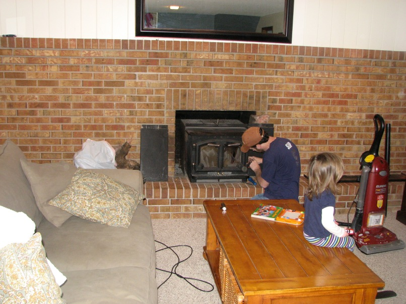 How To Remove Fireplace Frame Allframes5