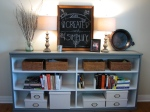 bookcase facelift